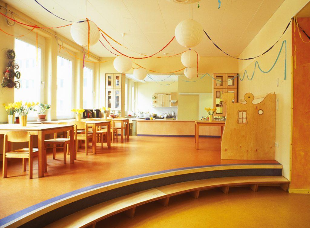 Kindergarten Friedensallee Essbereich