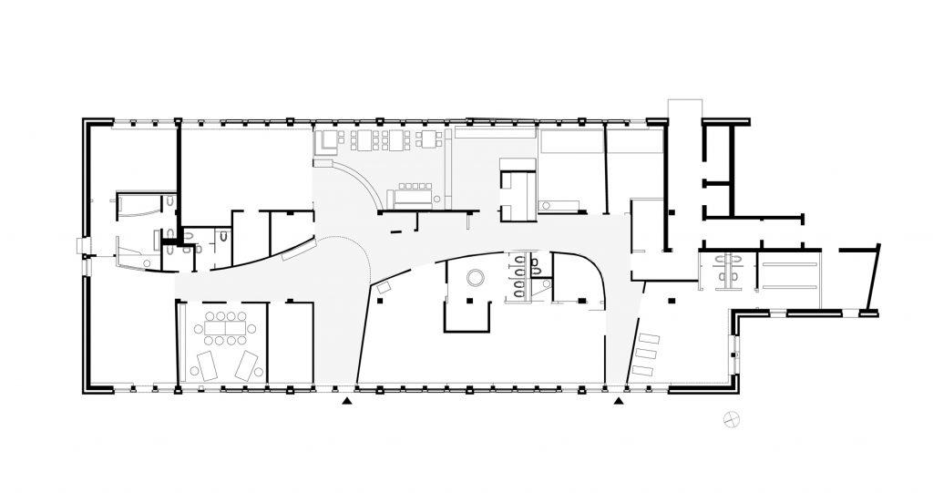 Kindergarten Friedensallee Grundriss