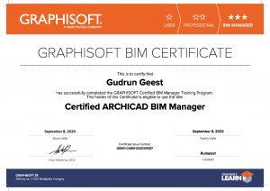 BIM Certificate