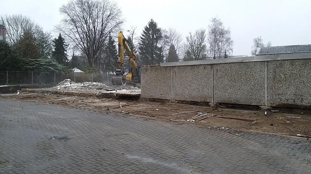Baustelle Stüffelring - Neustadtarchitekten