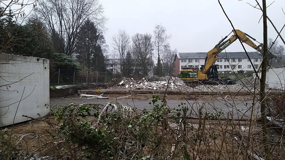 Baustelle Stüffelring Neustadtarchitekten