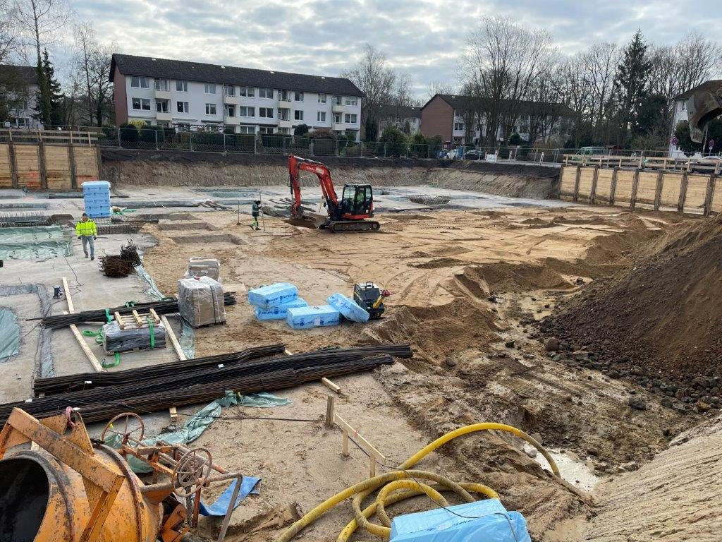 Baugrube-Baustelle-Stüffelring